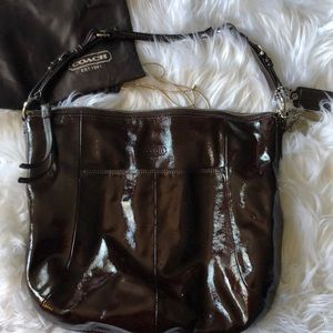 Coach leather handbag
